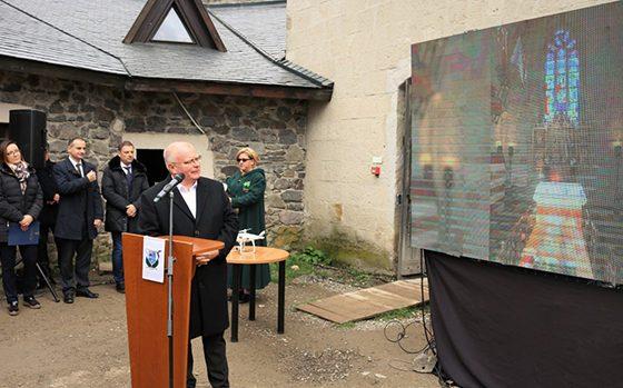 """""""FÜZÉR REG-ÉLŐ VÁR"""" II.1 ütem Konyha Sütőház építésének ünnepélyes időkapszula elhelyezése"""