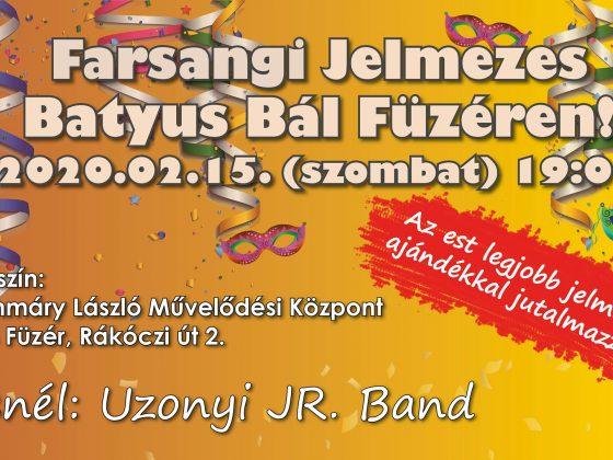 Farsangi Jelmezes Batyus Bál – frissítve!