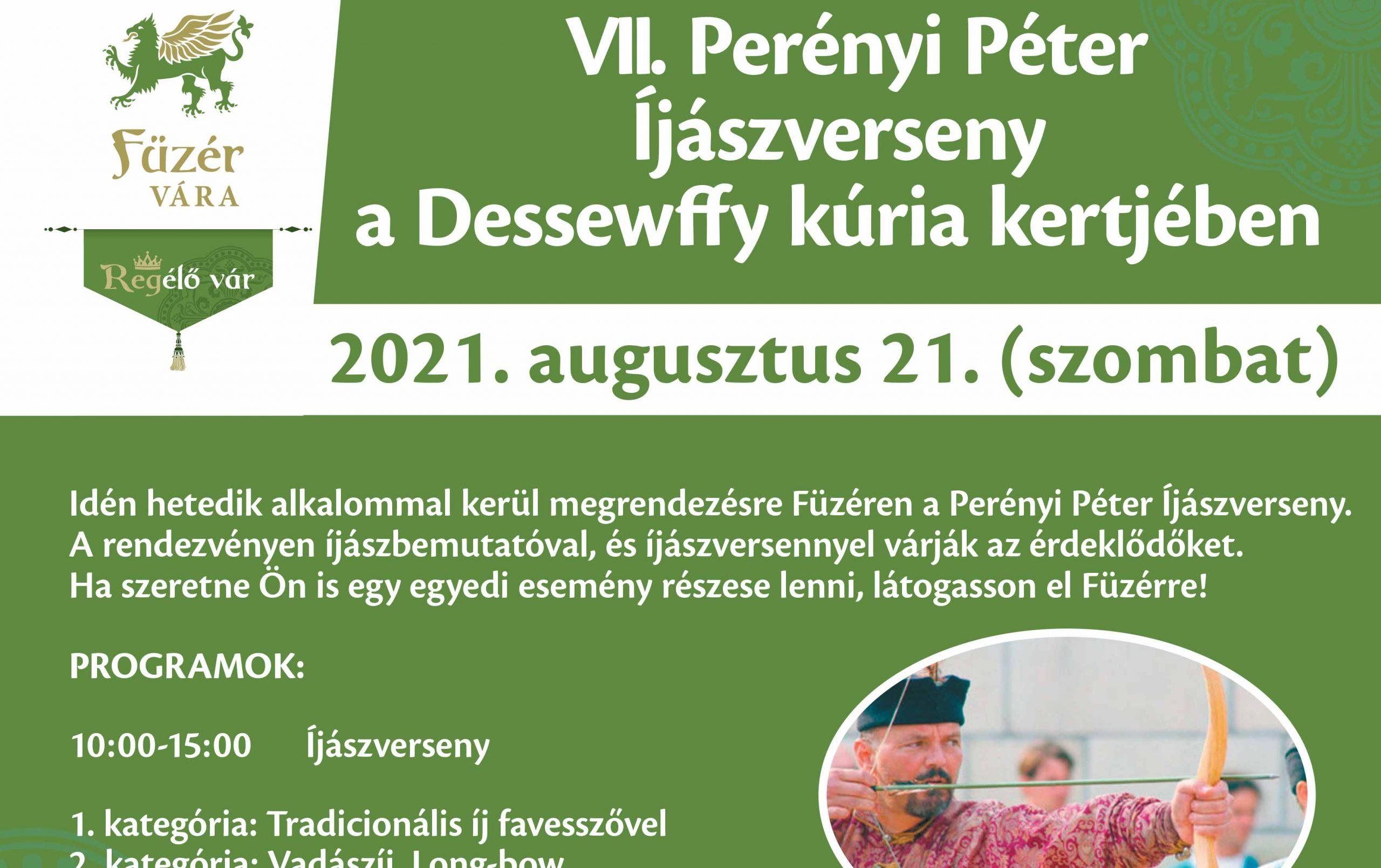 VII. Perényi Péter Íjászverseny Füzéren